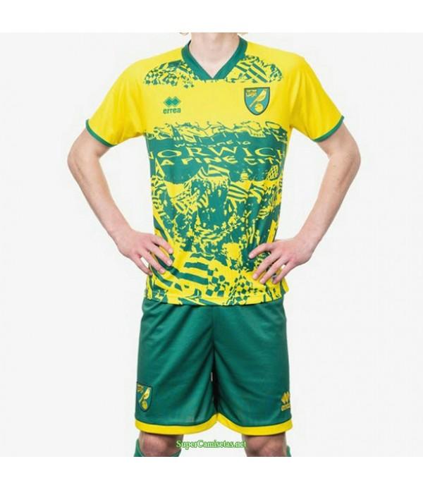 Tailandia Equipacion Camiseta Norwich City Special Edition 2021