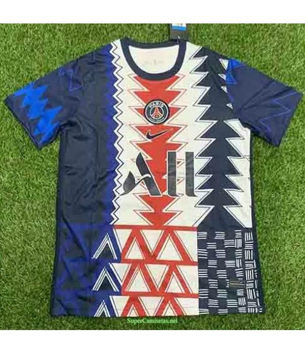 Tailandia Equipacion Camiseta Psg Pre Match Entren...