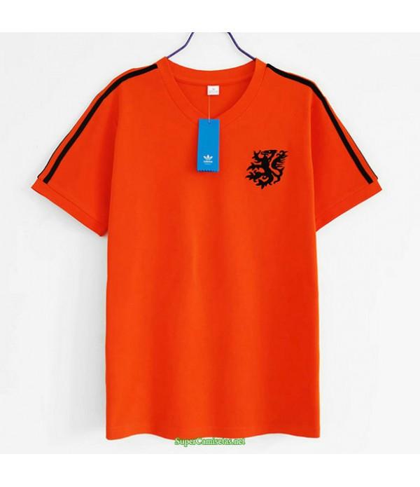 Tailandia Equipacion Camiseta Países Bajos Hombre 1984