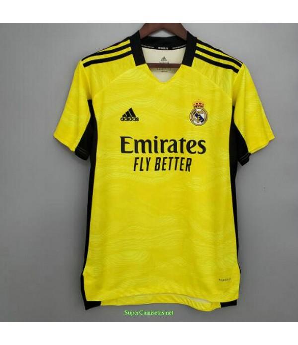 Tailandia Equipacion Camiseta Real Madrid Amarillo...