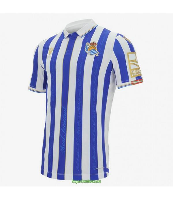 Tailandia Equipacion Camiseta Real Sociedad Copa Del Rey 2020