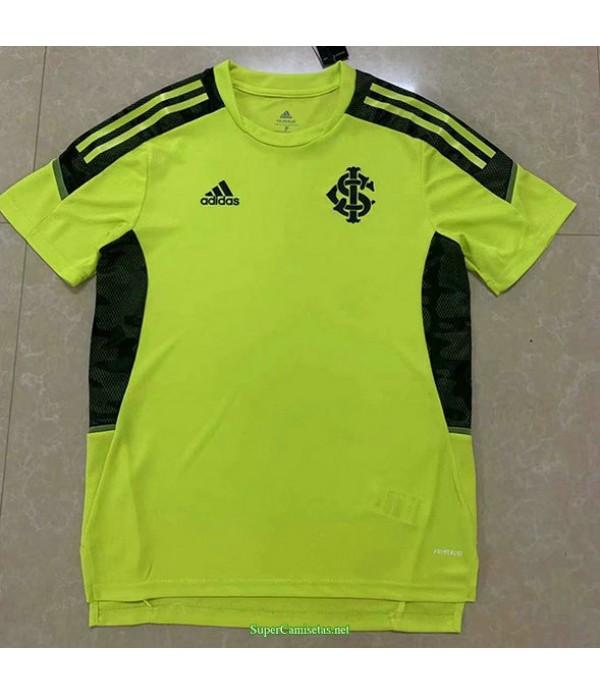 Tailandia Equipacion Camiseta Sc Internacional Pre Match Entrenamiento Amarillo 2021