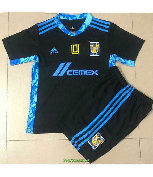 Tailandia Equipacion Camiseta Tiger Athletic Ninos Negro 2021
