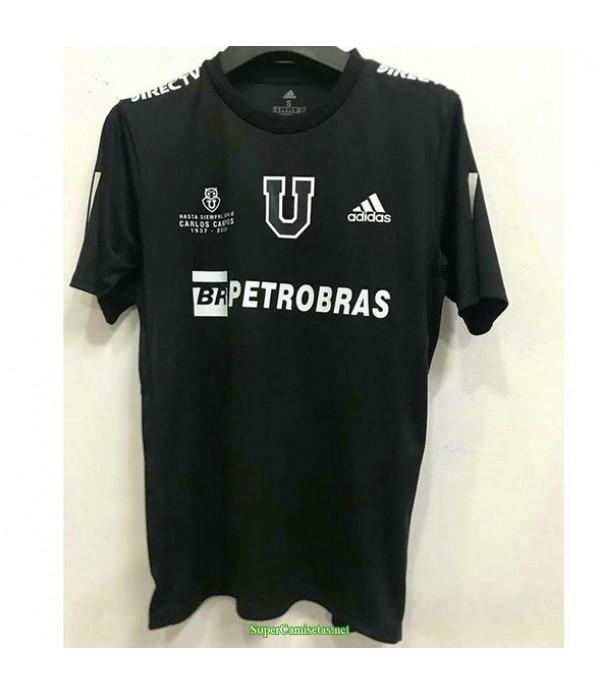 Tailandia Equipacion Camiseta Universidad De Chile Negro Edición Conmemorativa 2020