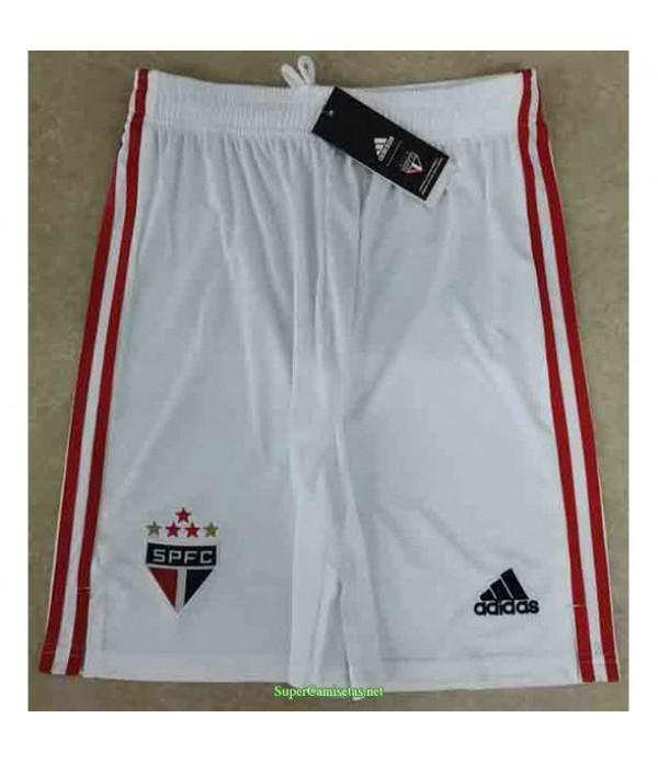Tailandia Pantalones Primera Equipacion Camiseta Sao Paulo 2021