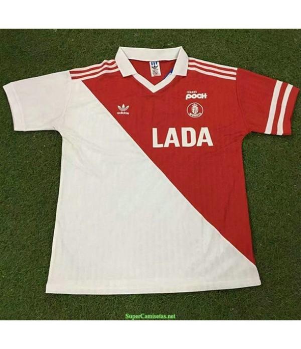 Tailandia Primera Equipacion Camiseta As Monaco Hombre 1990 91