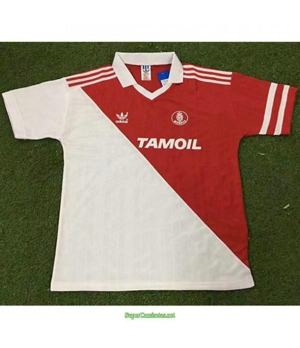 Tailandia Primera Equipacion Camiseta As Monaco Hombre 1992 94