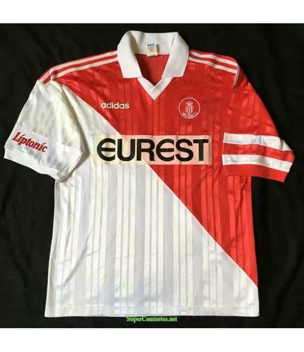Tailandia Primera Equipacion Camiseta As Monaco Hombre 1995 96