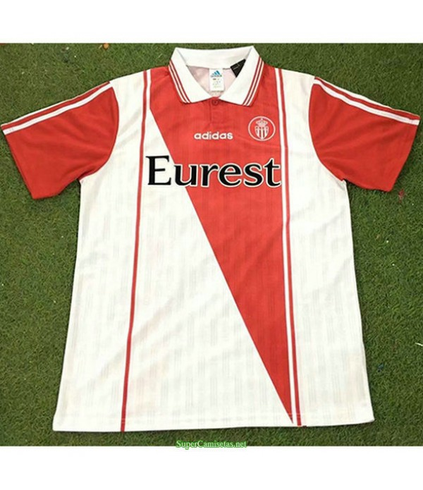 Tailandia Primera Equipacion Camiseta As Monaco Hombre 1996 97