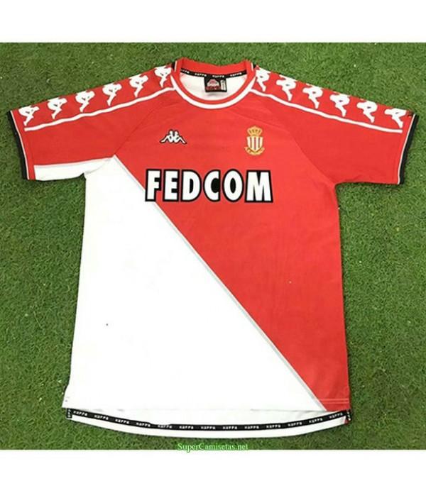 Tailandia Primera Equipacion Camiseta As Monaco Hombre 1999 00
