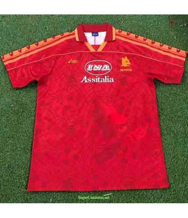 Tailandia Primera Equipacion Camiseta As Rome Hombre 1995 96