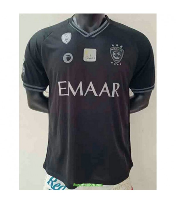 Tailandia Primera Equipacion Camiseta Al Hilal Negro 2020