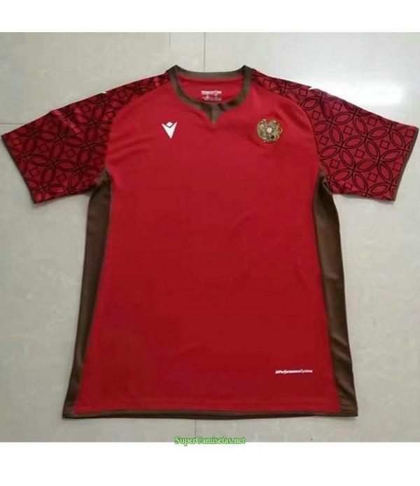 Tailandia Primera Equipacion Camiseta Arménie Rojo 2021