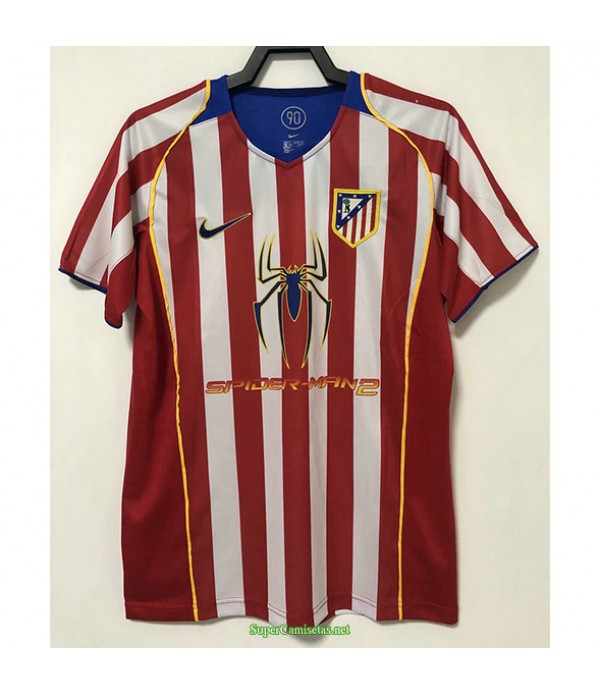 Tailandia Primera Equipacion Camiseta Atletico Madrid Hombre 2004 05