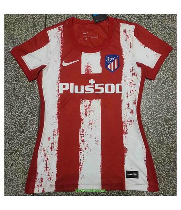 Tailandia Primera Equipacion Camiseta Atletico Madrid Mujer 2021