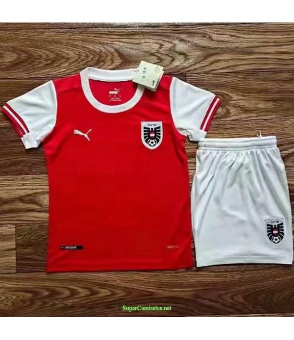 Tailandia Primera Equipacion Camiseta Austria Ninos 2020 22
