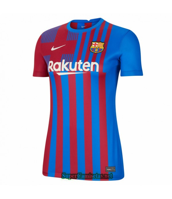 Tailandia Primera Equipacion Camiseta Barcelona Mujer 2021