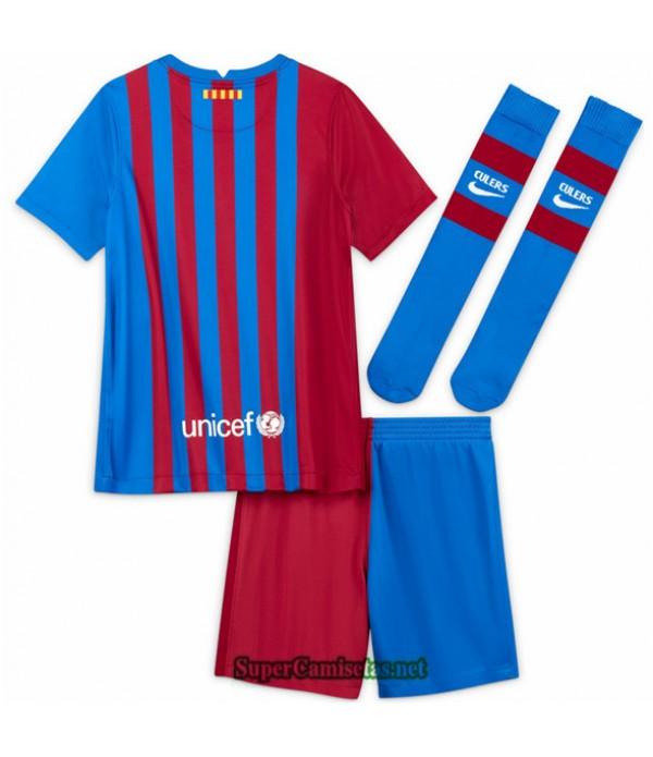 Tailandia Primera Equipacion Camiseta Barcelona Ninos 2021