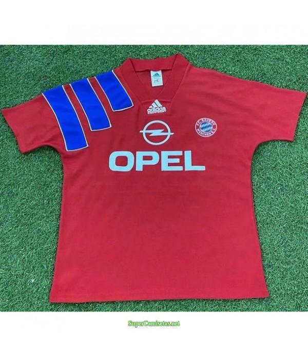 Tailandia Primera Equipacion Camiseta Bayern Munich Hombre 1991 93