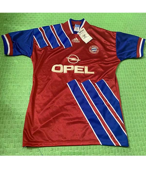 Tailandia Primera Equipacion Camiseta Bayern Munich Hombre 1997 98