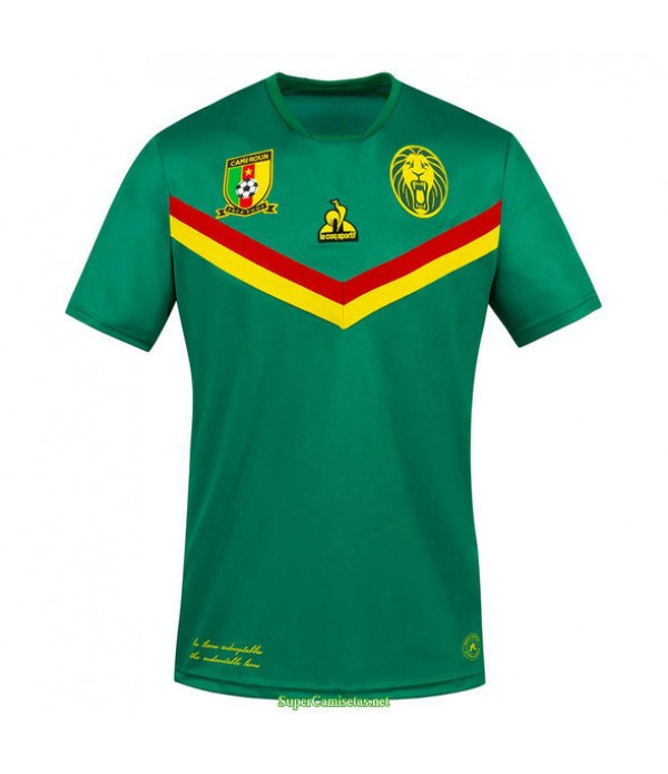 Tailandia Primera Equipacion Camiseta Camerun Verde 2020