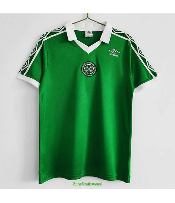 Tailandia Primera Equipacion Camiseta Celtic Hombre 1980