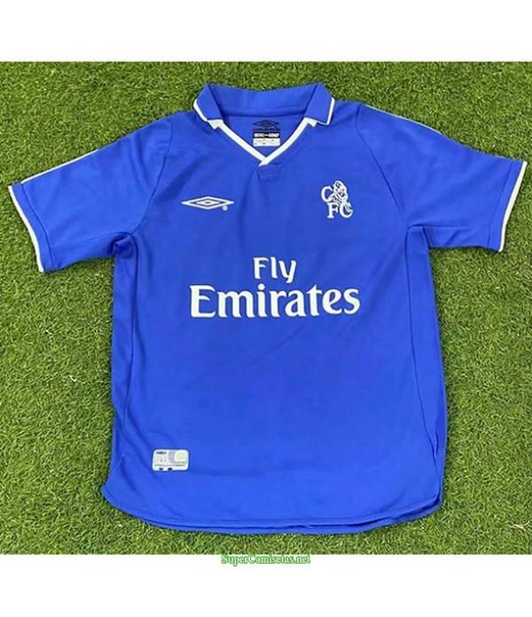 Tailandia Primera Equipacion Camiseta Chelsea Hombre 2001 03