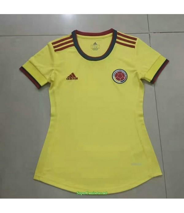 Tailandia Primera Equipacion Camiseta Colombia Mujer 2021