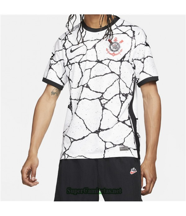 Tailandia Primera Equipacion Camiseta Corinthians 2021