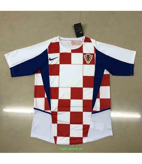 Tailandia Primera Equipacion Camiseta Croatia Hombre 2002
