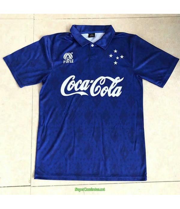 Tailandia Primera Equipacion Camiseta Cruzeiro Hombre 1993 94