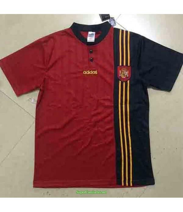 Tailandia Primera Equipacion Camiseta España Hombre 1996