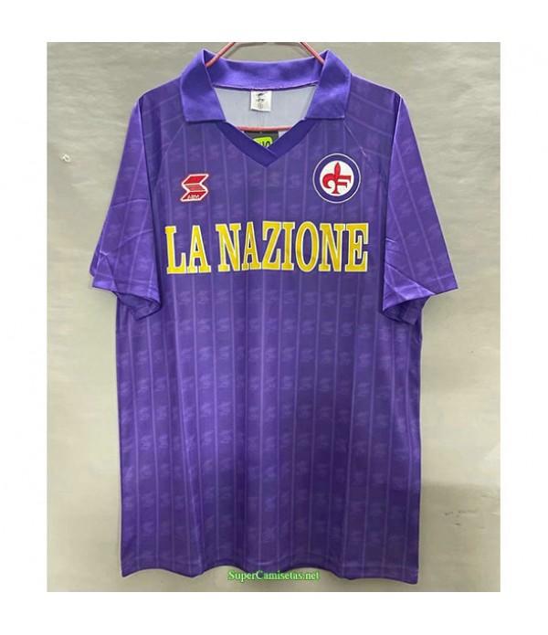 Tailandia Primera Equipacion Camiseta Fiorentina Hombre 1989 90