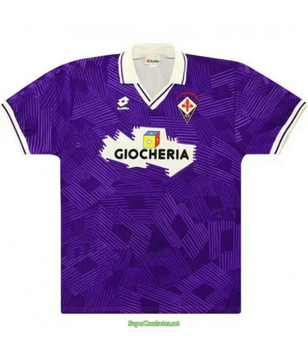 Tailandia Primera Equipacion Camiseta Fiorentina Hombre 1991 92