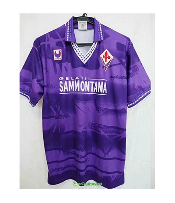 Tailandia Primera Equipacion Camiseta Fiorentina Hombre 1994 95