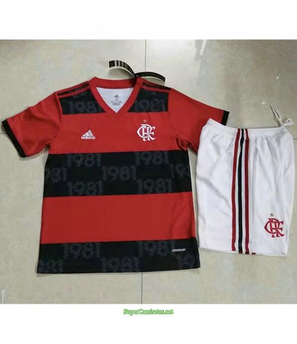 Tailandia Primera Equipacion Camiseta Flamengo Ninos 2021