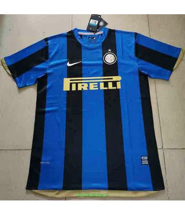 Tailandia Primera Equipacion Camiseta Inter Milan Hombre 2008 09