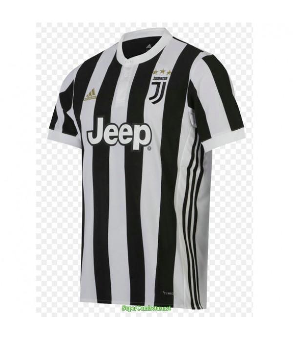 Tailandia Primera Equipacion Camiseta Juventus Hombre 17 18