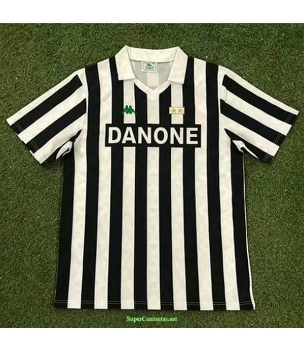 Tailandia Primera Equipacion Camiseta Juventus Hombre 1992 94