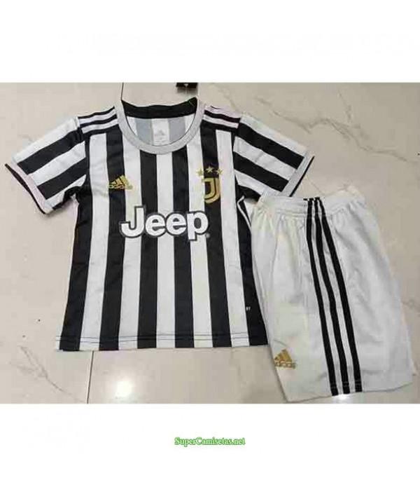 Tailandia Primera Equipacion Camiseta Juventus Ninos 2021