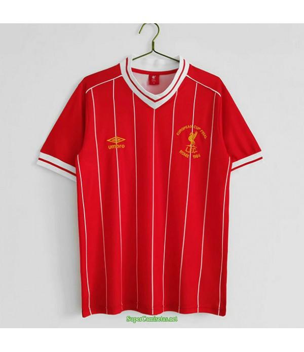 Tailandia Primera Equipacion Camiseta Liverpool Liga De Campeones Hombre 1981 84