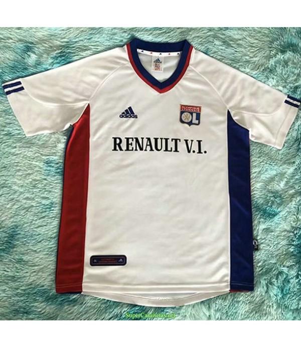 Tailandia Primera Equipacion Camiseta Lyon Hombre 2001 02