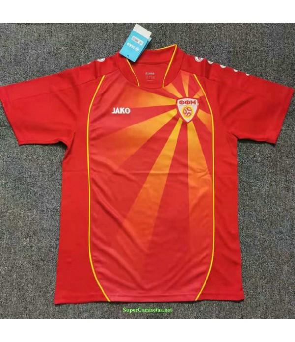 Tailandia Primera Equipacion Camiseta Macédoine 2021