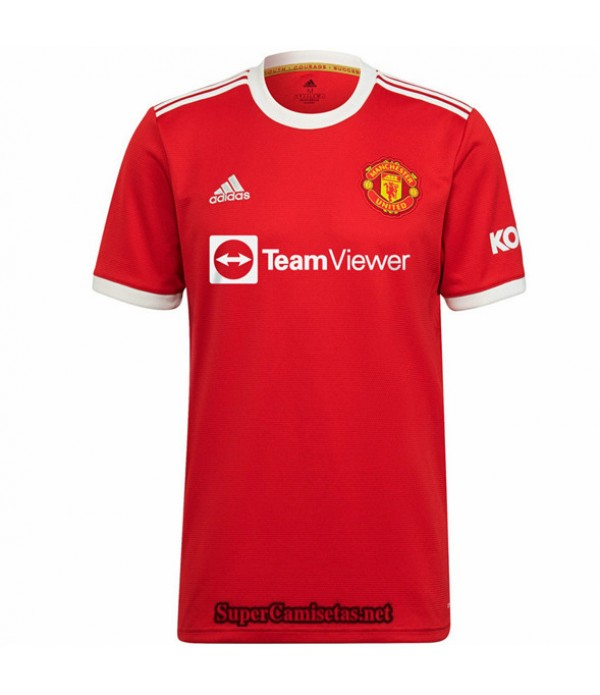 Tailandia Primera Equipacion Camiseta Manchester United 2021