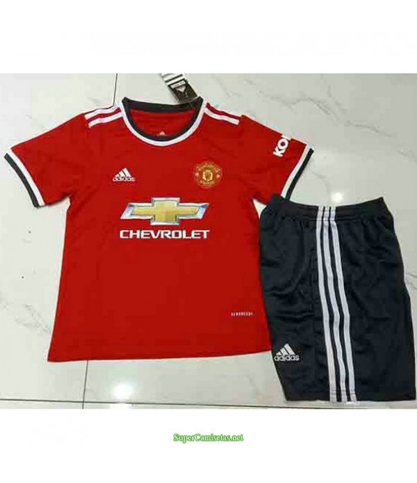 Tailandia Primera Equipacion Camiseta Manchester United Ninos 2021