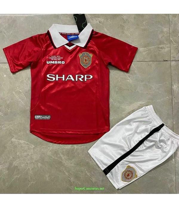 Tailandia Primera Equipacion Camiseta Manchester United Ninos Hombre 1999 2000