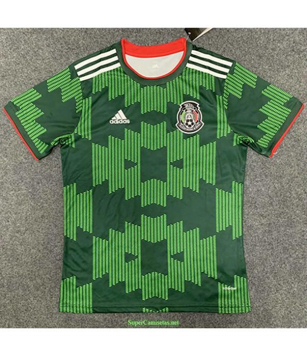 Tailandia Primera Equipacion Camiseta México Fixed 2021