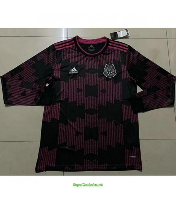 Tailandia Primera Equipacion Camiseta México Manga Larga 2021