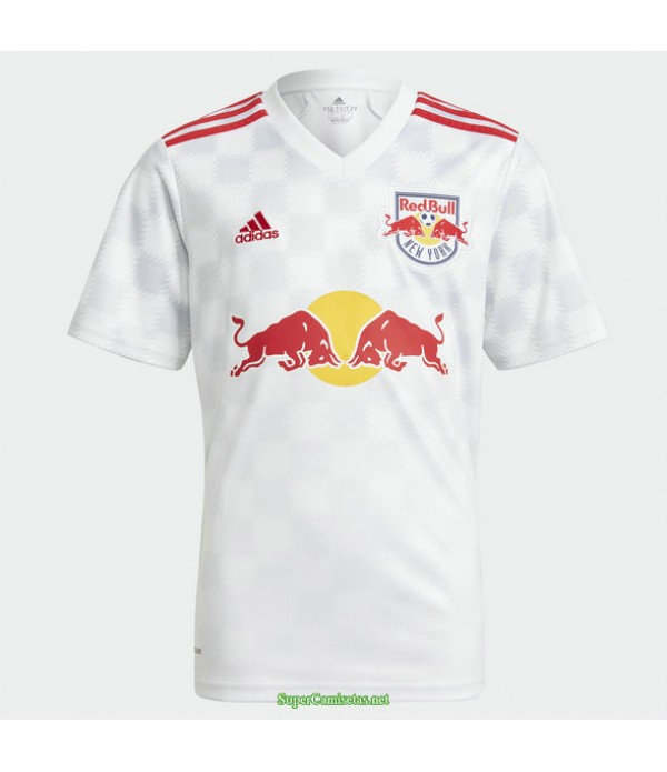 Tailandia Primera Equipacion Camiseta New York Rojo Bulls 2021
