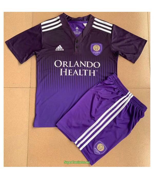 Tailandia Primera Equipacion Camiseta Orlando City Ninos 2021